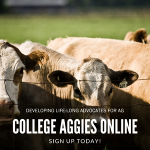 Engage your campus through College Aggies Online