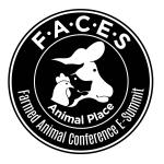 Farmed Animal Conference E-Summit (FACES) logo